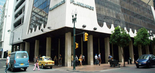 Filanbanco is recognized as the largest bank in Ecuador